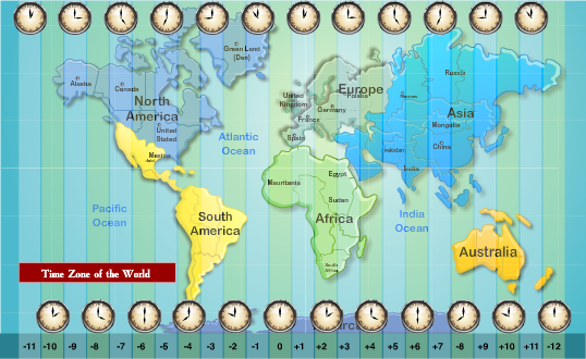 ... us time zones start at 5 hours after gmt and go to 8 hours after gmt