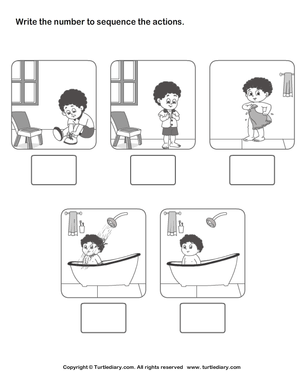 Story Sequence Worksheets First Grade Story Sequencing Worksheets