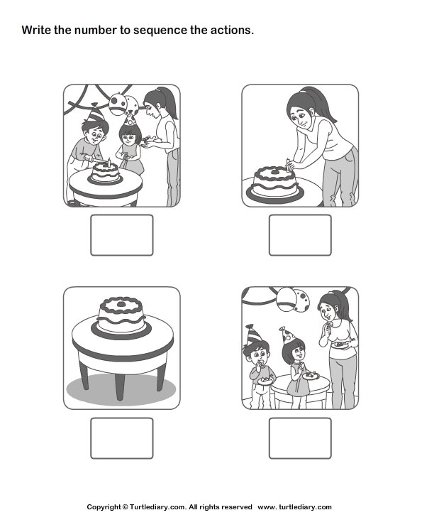 {Worksheets Sequencing Events Go Back Gallery For Sequence Of – Sequencing Events Worksheets for Kindergarten
