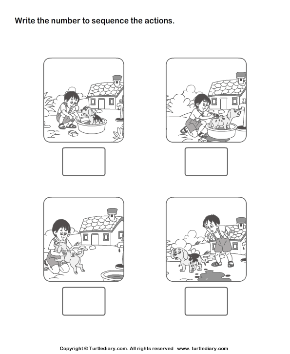 Worksheet 595725 Sequencing Events Worksheets for Kindergarten – Sequencing Worksheets for Kindergarten