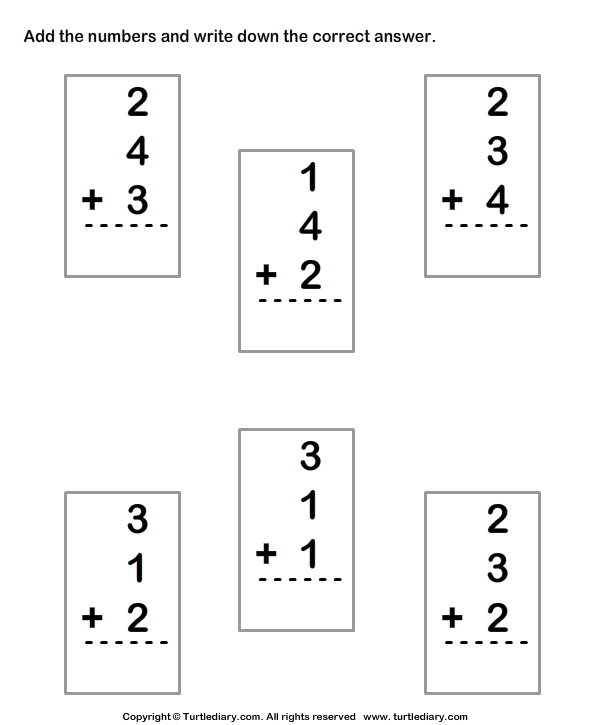 math time worksheets for 1st grade image search results